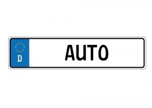 Autokennzeichen geklaut was muss man beachten?