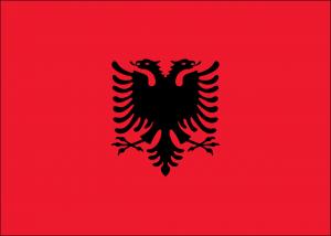 Autokennzeichen in Albanien tragen den Doppelkopfadler des Landeswappens. Bei den neuen Kennzeichen lässt sich nicht mehr direkt auf die Herkunft schließen.