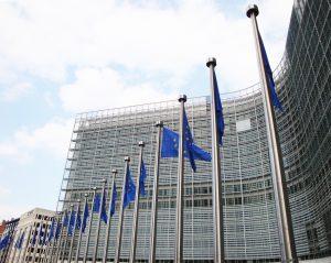 Autokennzeichen der EU nutzen in Brüssel belgische Autokennzeichen.