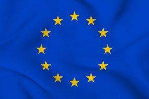 Autokennzeichen der EU tragen die europäischen Sterne.