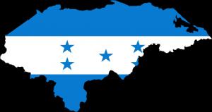 Autokennzeichen in Honduras tragen den Umriss der Landkarte in verschiedenen Farben, abhängig von der Fahrzeugart.