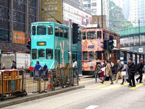 Autokennzeichen in Hongkong unterscheiden sich von denen in der Volksrepublik China.