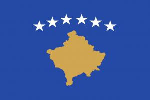 Die Autokennzeichen im Kosovo tragen das Landeswappen.