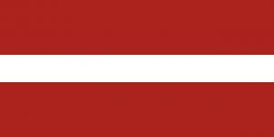 Autokennzeichen in Lettland lassen keinen direkten Schlüsse auf den Zulassungsbezirk zu.