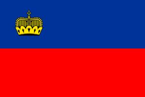Autokennzeichen in Liechtenstein tragen das Staatswappen.