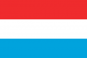Autokennzeichen in Luxemburg tragen das Landeskürzel L.