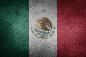Autokennzeichen in Mexiko tragen eine Kennnummer für den Bundesstaat aus dem sie stammen.