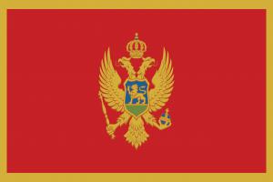 Autokennzeichen in Montenegro tragen das Landeswappen und ein Kürzel an dem man den Zulassungsbezirk ablesen kann.