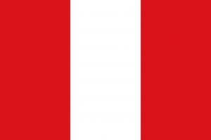 Die Autokennzeichen in Peru verraten die Herkunft anhand es ersten Buchstabens.
