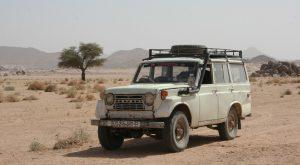 Autokennzeichen in Algerien tragen ausschließlich Ziffern. Die letzte gibt den Herkunftsort an.