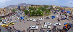 Im Iran lässt sich die Provinz am Kennzeichen ablesen.