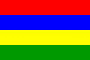 Auf den Autokennzeichen in Mauritius lässt sich das Datum der Erstzulassung ablesen.