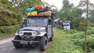 Ein Fahrzeug aus Ostjava: Surabaya.