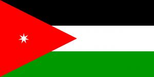 In Jordanien tagen die Kennzeichen ein farbiges Feld welches den Verwendungszweck des Fahrzeuges angibt.