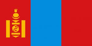 Das Sojombo-Symbol befindet sich nicht nur auf der Nationalflagge, sondern auch auf Autokennzeichen in der Mongolei.