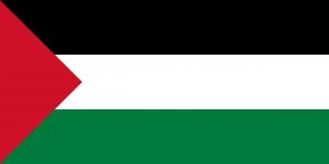 Palästinensische Autokennzeichen erlauben das Ablesen des Herkunftgebietes.