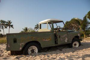 Die Fahrzeuge in Mosambik, werden ähnlich wie in Polen, jährlich einer technischen Inspektion unterzogen.