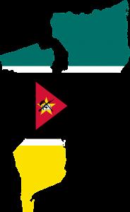 Mosambik war 500 Jahre lang eine Kolonie Portugals.