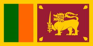 Autokennzeichen in Sri Lanka tragen vorn das Landeswappen