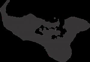 Die Karte von Tonga.