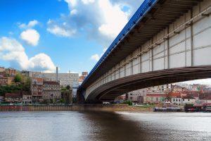 Belgrad die Landeshauptstadt von Serbien.