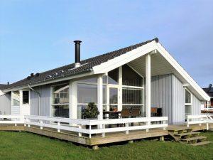 """In Dänemark sind Ferienhäuser, auf Englisch """"holiday home"""", bei Touristen sehr beliebt."""
