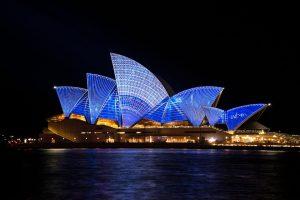 Nicht nur das Opernhaus in Sydney ist sehenswert.