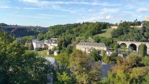 Ein Blick auf Luxemburg-Stadt.