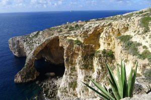 Die Insel Gozo in Malta.