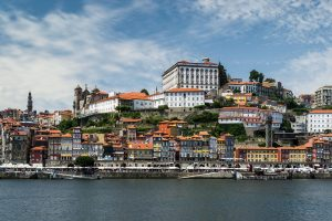 Die Stadt Porto in Portugal.