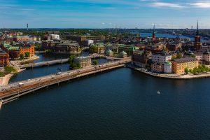 Stockholm als Landeshauptstadt von Schweden.