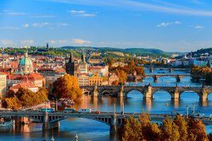 Urlaub in Tschechien, hier die Landeshauptstadt Prag.