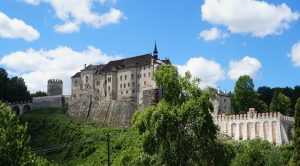Burg in Tschechien.