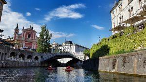 Ljubljana in Slowenien.