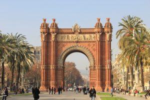 Arc de Triomf in Barcelona.