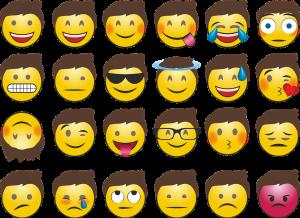 Autokennzeichen mit Emojis