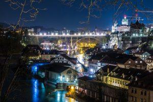 Die Stadt Bern in der Schweiz.