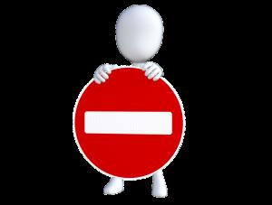 Verbotene Kennzeichen-Kürzel