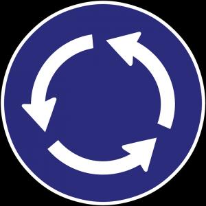 Was man im Kreisverkehr beachten sollte.
