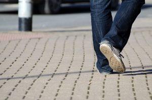 Was man bezüglich der Schrittgeschwindigkeit beachten sollte.